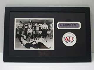 Muhammad Ali Autographed Signed 8x10 Photo The Beatles Matted Framed JSA Loa - Authentic Memorabilia