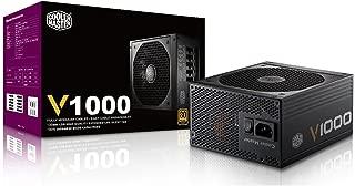 Cooler Master V1000, Full Modular 80+ Gold Certified 1000W Power Supply, 5 Year Warranty
