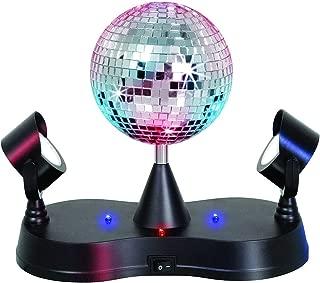 Kicko 1 Disco Ball LED Strobe Light - 5 Inch - Energy Saving - 1