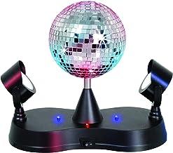 Kicko Disco Light – Multi-Colored LED Revolving Strobe Light Ball – for Stage..