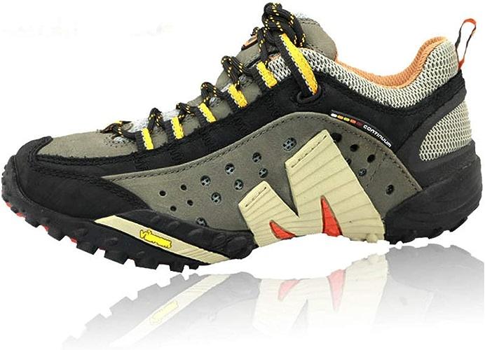 Chaussures de randonnée antidérapantes Chaussures de randonnée résistantes à l'usure Chaussures d'escalade extérieures Confortables Sports de Loisirs Chaussures de marche-noir-42