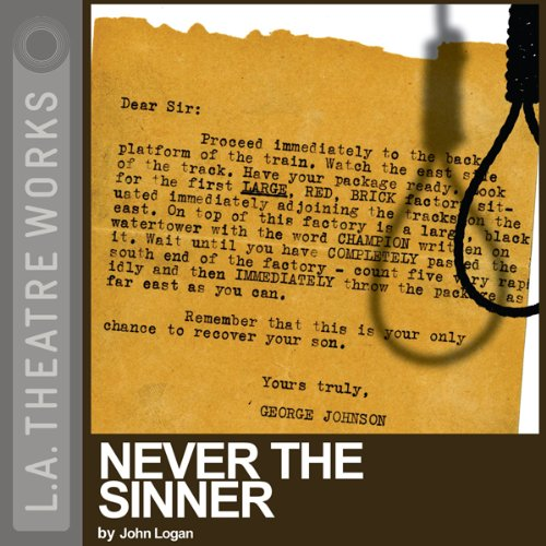 Never the Sinner audiobook cover art