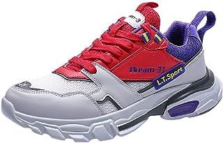 a1a6fcd2a0ec7d Basket Femme Homme Chaussures de Sport Lacets Fitness Confortable Basses  Basquettes Chaussure Liquidation Running Chaussures de