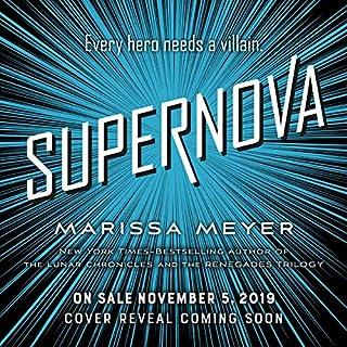 Supernova audiobook cover art