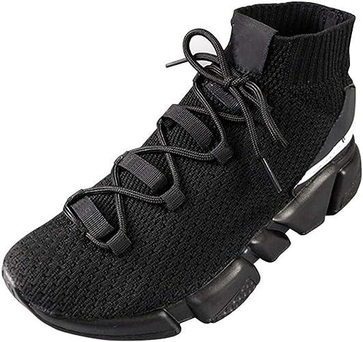 XINGMU Chaussures De Sport engrener Génoises Requin Talon Bas Style.