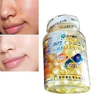 Cápsulas de esencia de coco de gusano de seda para eliminar el acné y eliminar el acné y la esencia facial, 90 unidades