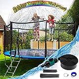 Irrigatore per trampolino da 10 m, per esterni, per bambini, gioco di acqua all'aria apert...