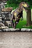 GladsBuy Dinosaur World 6' x 9' Digital Printed Photography Backdrop KA Series Background KA209