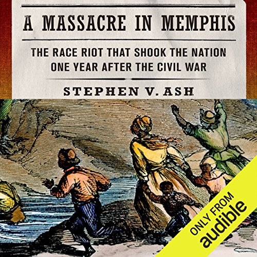A Massacre in Memphis audiobook cover art