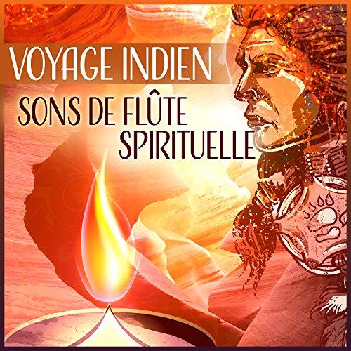 Voyage indien - Sons de flûte spirituelle, blanc fleur de lotus, esprit du chaman, méditation sacrés, musique amérindienne
