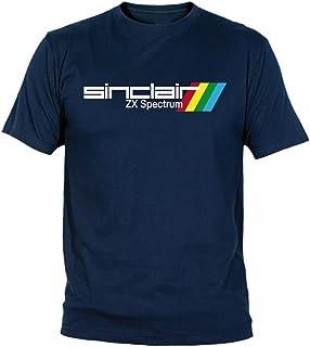 Desconocido Camiseta Sinclair ZX Spectrum Adulto/niño EGB ochenteras 80´s Retro