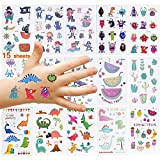 Nabance Kinder Tattoo Set 230 Dinosaurier Monsters Piraten Tattoo Set Temporäre Kinder Tattoos...
