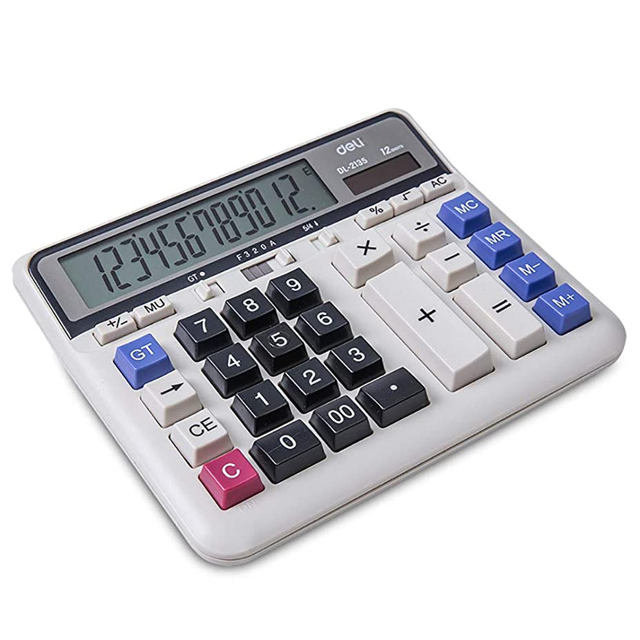 ミニチュア定常ガイダンス電卓財務会計事務所専用ソーラーエネルギーコンピューター