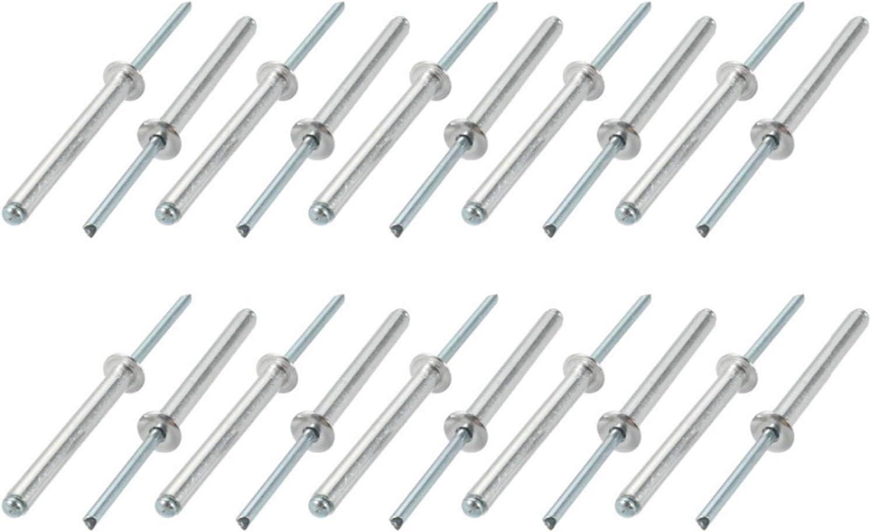 Free Shipping New JBZD Rivet 20Pcs Rivets 5x45 50mm Rive Open Manufacturer OFFicial shop Steel Aluminum Blind