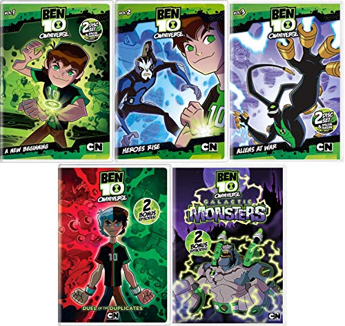Ben 10 Omniverse: Cartoon Network TV Series Volumes 1-5 DVD Collection