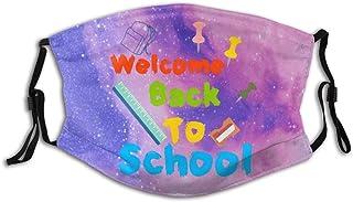 Promini välkommen tillbaka till skolan personlig munärm återanvändbar munskydd