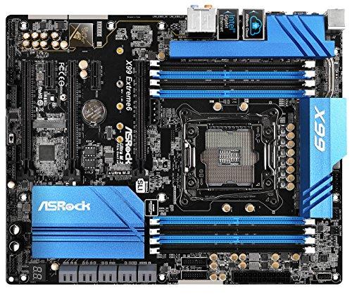 Asrock X99 EXTREME6 Intel X99 LGA 2011 (Socket R) ATX Motherboard - Motherboards (DDR4-SDRAM, DIMM, 1066,1333,1600,1866,2133 MHz, Quad, 128 GB, Intel)