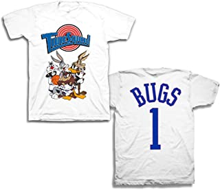 Mens Classic Shirt - Tune Squad Marvin & Bugs Bunny Tee 90's Classic T-Shirt
