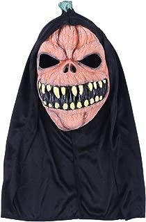 Amosfun Halloween Horror Latex Mask Dress Up Mask Masquerade Carnival Costume Prop Dress-up Accessory
