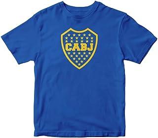 Boca Juniors Argentina Futbol Football Soccer Royal Blue T Shirt Remera Men Sizes