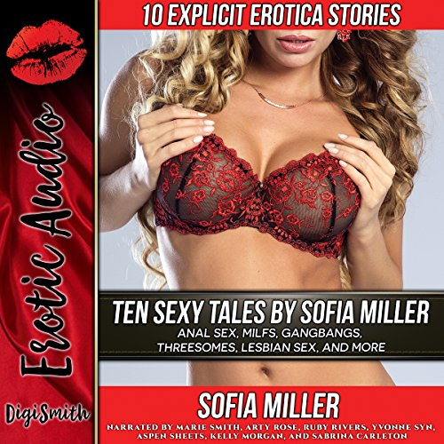 Ten Sexy Tales by Sofia Miller audiobook cover art