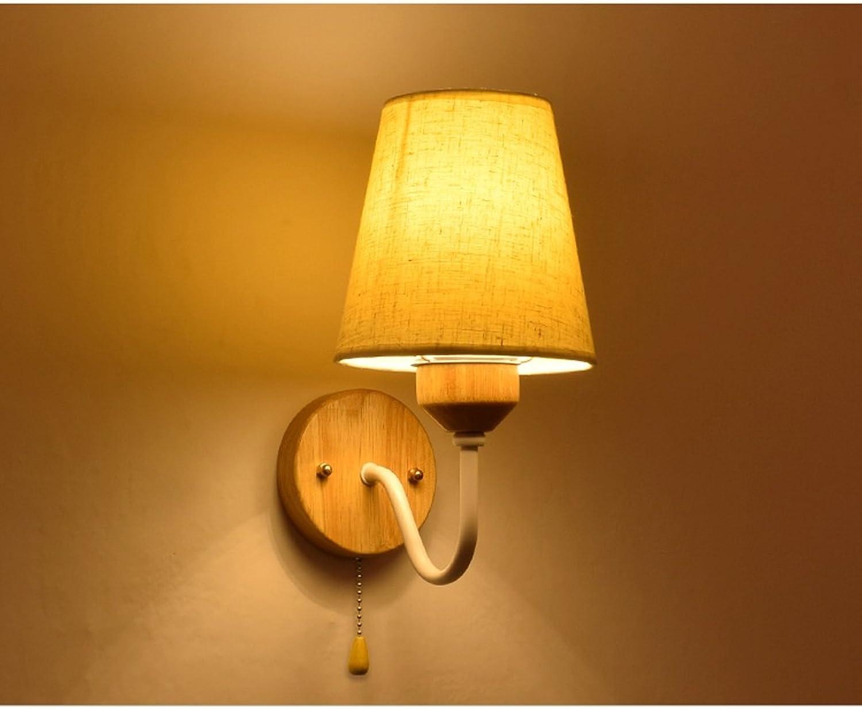 Leuchte Moderne minimalistische Schlafzimmer Nachttischlampe Treppe Aisle LED Wandleuchte (single Doppelkopf) (Farbe   Single head)