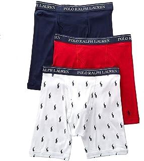 Polo Ralph Lauren Men's 3-Pack Long Leg Boxer Brief