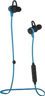 Amazon Basics Écouteurs Bluetooth sans fil fitness avec micro, bleu