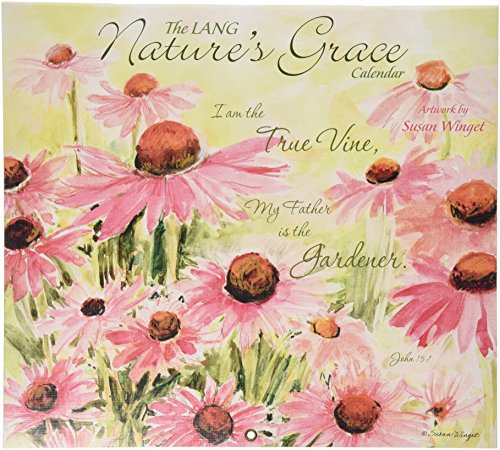 Lang Nature's Grace 2016 Wall Calendar by Susan Winget, January 2016 to December 2016, 13.375 x 24 Inches (1001932)