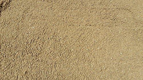 25 kg gewaschener Deutscher Rheinsand 0-2 mm - Badesand Strandsand Beachsand Quarzsand Fugensand Sand Lieferung KOSTENLOS