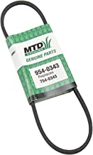 MTD 954-0343 Drive V-Belt Replacement for Lawn Mowers