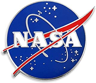 NASA Logo Enamel Lapel Pin
