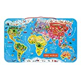 Magnetic World Puzzle English Edition