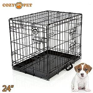 Cages confortables de bonne qualité pour chiens