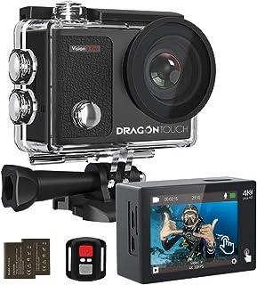 Dragon Touch 4k Cámara de Acción con 2 Inch Pantalla Táct
