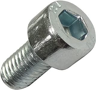 50x Pernos roscados con cabeza cilindrica M3x10mm DIN912 acero ennegrecido huella 2.5mm Allen C17948 AERZETIX