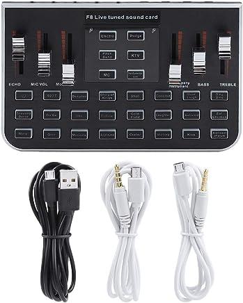 Focket Scheda Audio dal Vivo con 4 Toni di Variante Voiceused per Live Mobile Phone,Live Computer,Wechat,Phone Voice per Funny Chat - Trova i prezzi più bassi