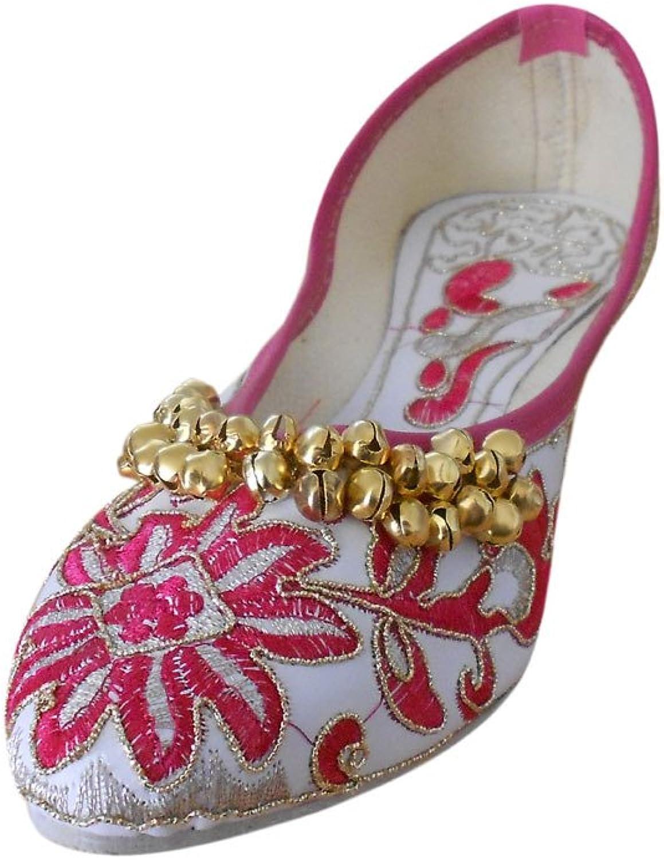 Kalra Creations Mojari Women's Traditional Synthetic Ethnic shoes