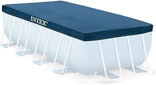 Intex Rectangular Pool Cover - 28039, Navy Blue