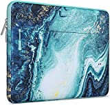 MOSISO Laptop Sleeve Compatible with 2019 MacBook Pro 16 inch Touch Bar A2141, 15-15.6 inch MacBook Pro Retina 2012-2015, Notebook, Polyester Horizontal Creative Wave Marble Bag