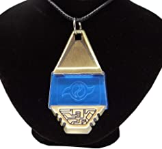 Decalism Metal Digimon Tag with Crest of Friendship