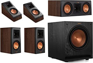 Klipsch RP-500M 5.1 Home Theater System - Walnut