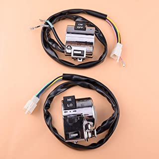 Motorcycle Handlebar Start And Horn Switch Unit Fit For Benzhou Znen