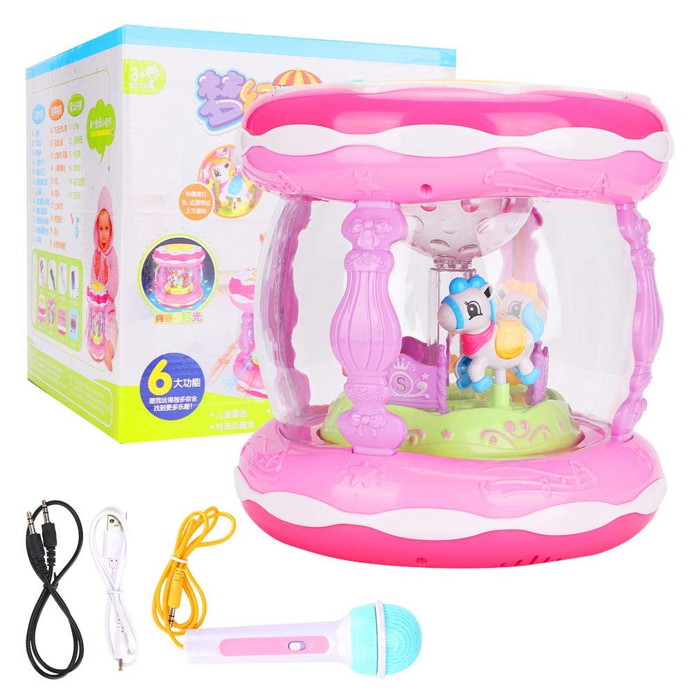 Rechargeable Regular store Toy Rich Content of Music Story Drum and Rare
