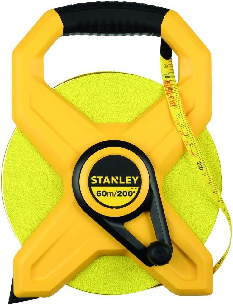Stanley Arlington Mall 34-794 60m 200-Foot Max 52% OFF Open Tape Rule Long Reel Fiberglass
