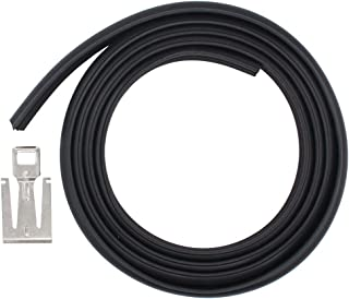 ApplianPar W10542314 Dishwasher Door Seal Gasket & Latch Strike Plate for Whirlpool Amana Kenmore Kitchen Aid Maytag Roper 2409202 8268888 W10284090 W10350162 W10300589 AP5650274