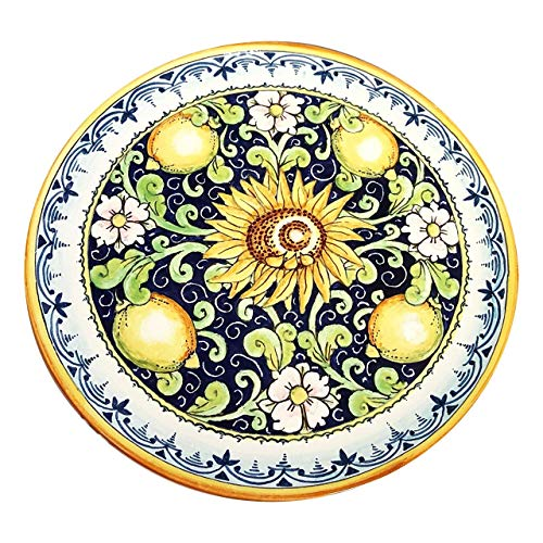 CERAMICHE D'ARTE PARRINI - Italian Ceramic Art Pottery Plate Dish Hand Painted Made in ITALY Tuscan