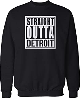 NOFO Clothing Co Straight Outta Detroit Crew Neck Sweatshirt