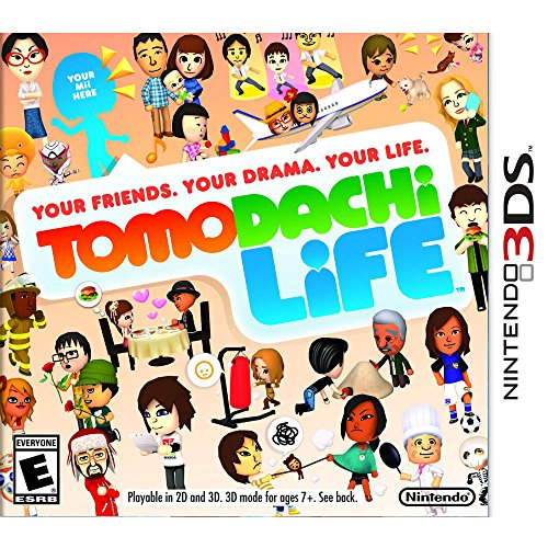 Nintendo Tomodachi Life - Juego (Nintendo 3DS, Simulación, Jun 06, 2014, E (para todos), Básico, Nintendo)