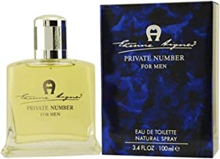 Private Number By Night by Aigner for Women - Eau de Parfum, 100ml